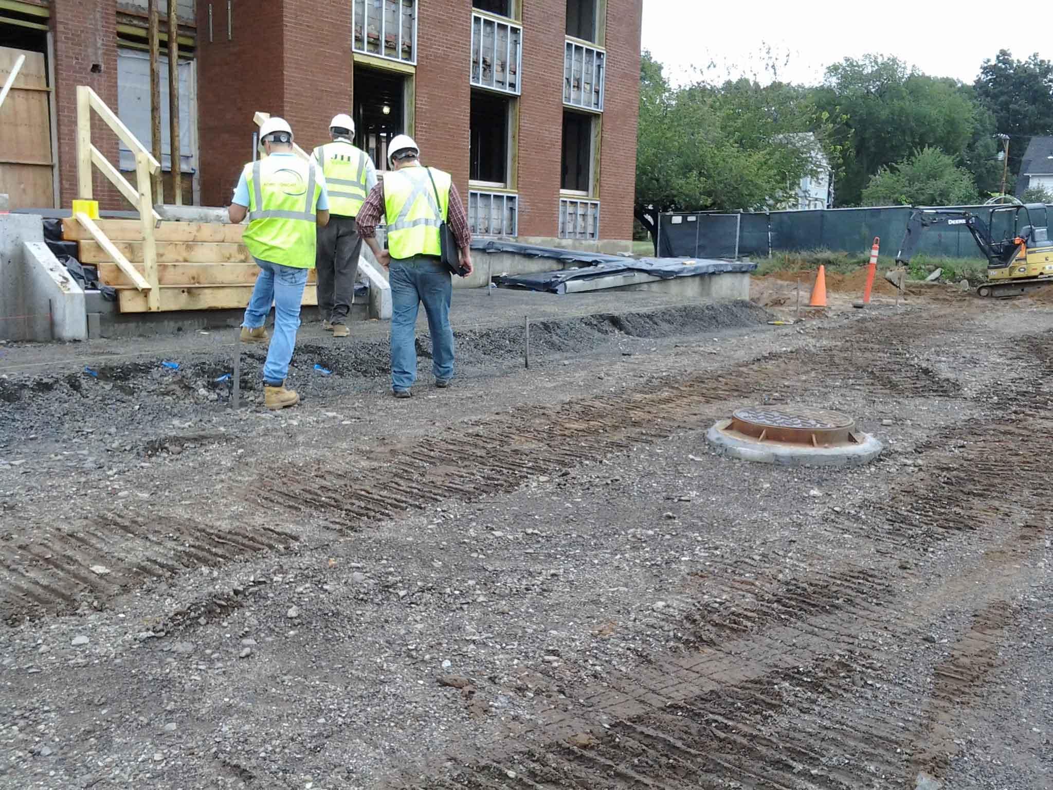 CSA_North Haven PD_Construction Progress 1
