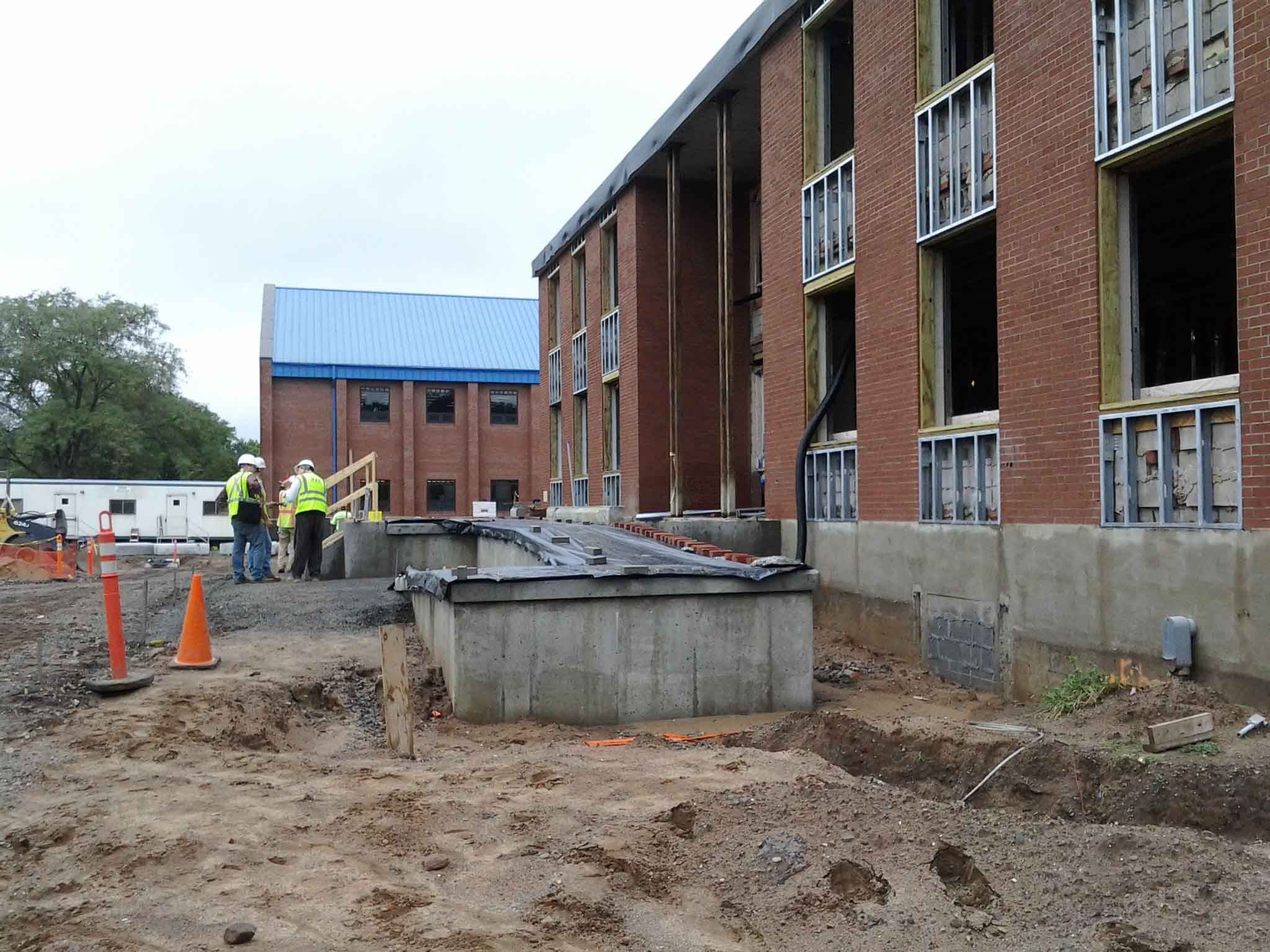 CSA_North Haven PD_Construction Progress 3