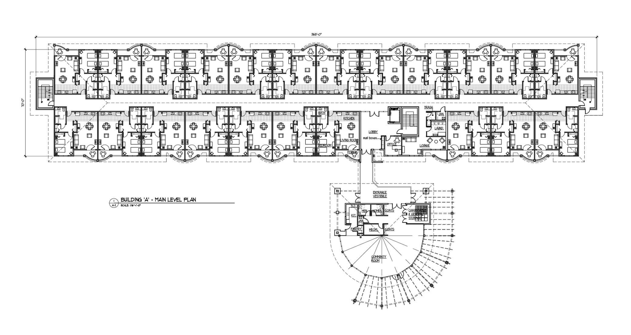 Capital Studio Architects_Enfield Manor Plan