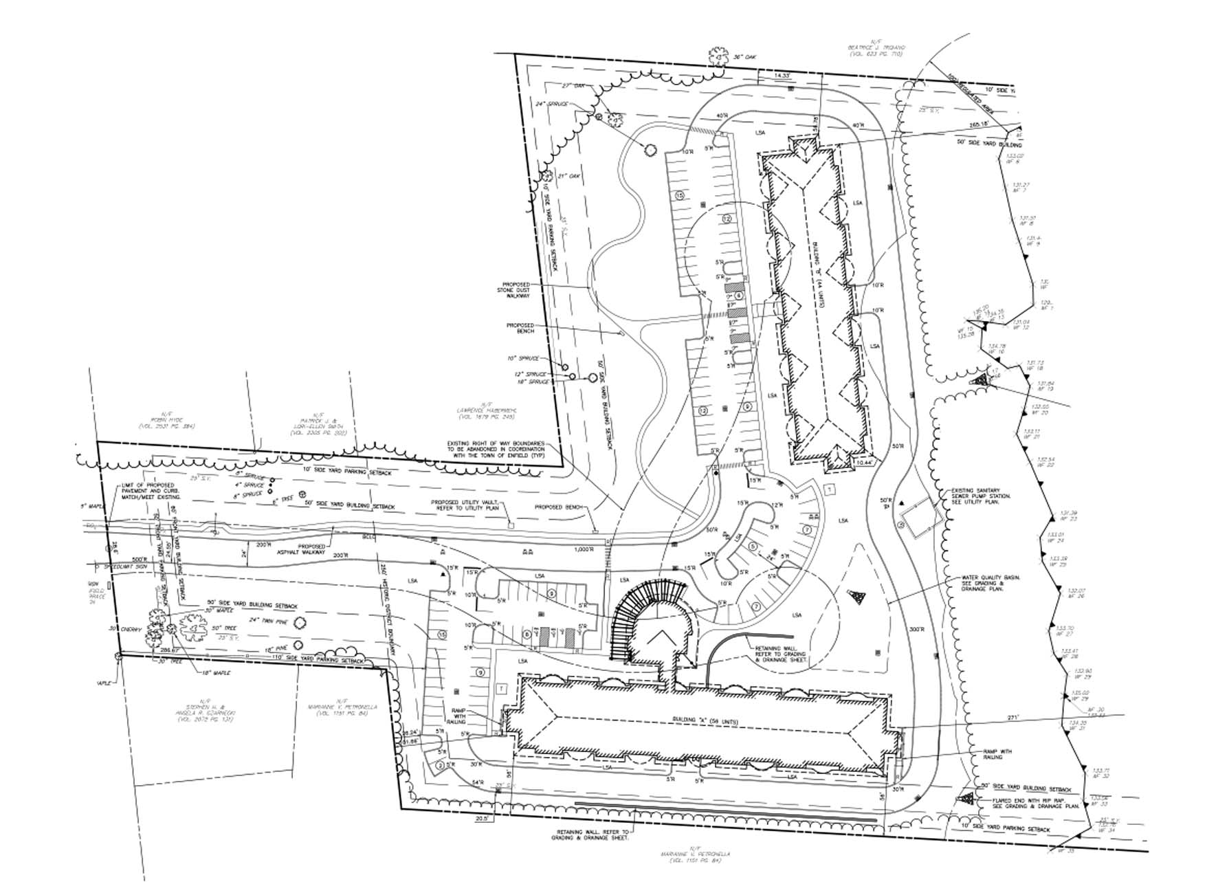 Capital Studio Architects_Enfield Manor Site Plan